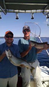 fun charter fishing in traverse city