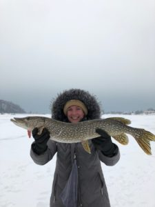 Guided ice fishing Traverse City