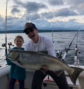 Traverse City Salmon Fishing