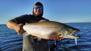 Trout Fishing Charter Traverse City
