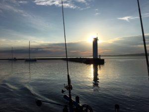Traverse City Fishing Trip Sunrise
