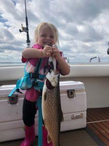 Family fun fishing trip
